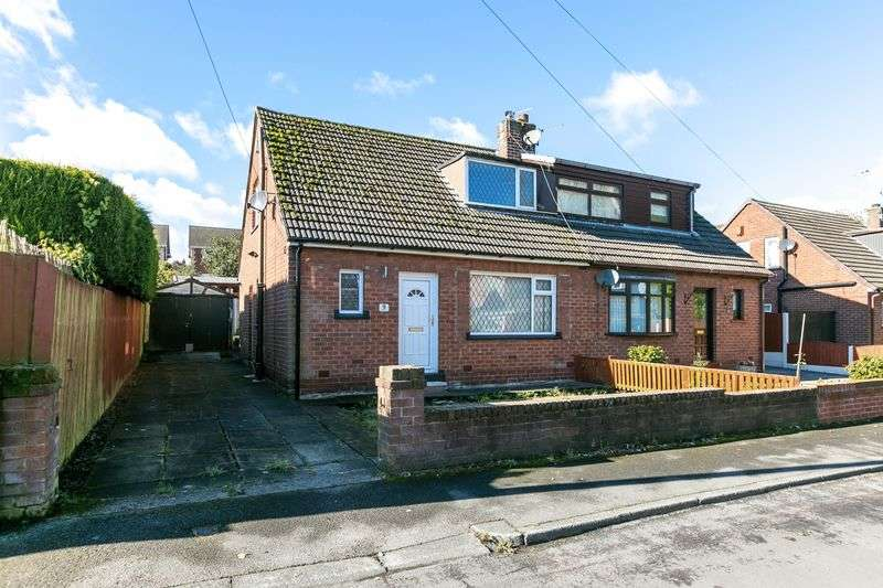 2 Bedrooms Semi Detached Bungalow for sale in Delphside Road, Orrell, WN5 8TR