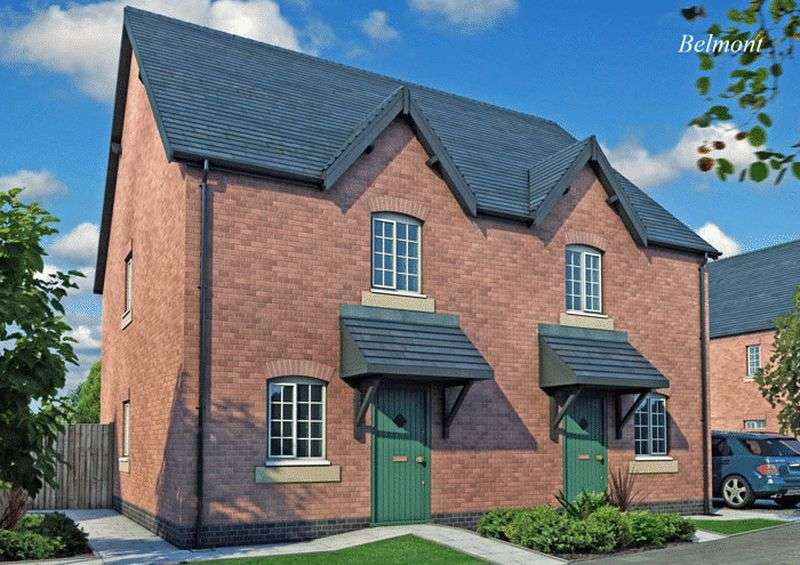 "2 Bedrooms Detached House for sale in Peacehaven ""The Belmont"" Etwall Road, Willington"
