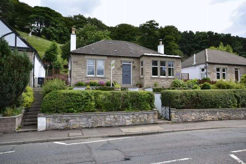 3 Bedrooms Detached Bungalow for sale in 8 Edinburgh Road, Peebles, EH45 8DZ