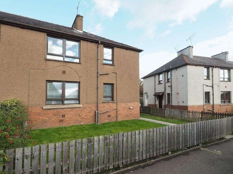 2 Bedrooms Flat for sale in 16 Cardross Crescent, Broxburn
