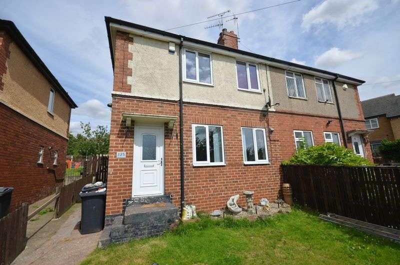 3 Bedrooms Semi Detached House for sale in 125 Station Road, Kiveton Park, Sheffield, S26 6QP
