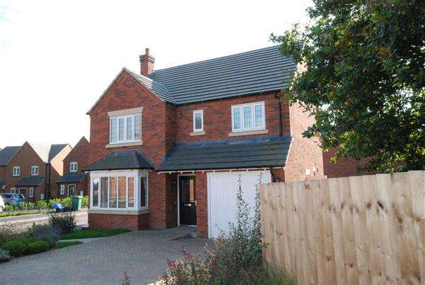 5 Bedrooms Detached House for sale in Barn Owl Way, Meadowfields, Shrewsbury, Shrewsbury