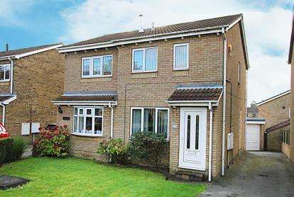 2 Bedrooms Semi Detached House for sale in Epping Gardens, Sothall, Sheffield, South Yorkshire