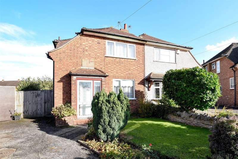 3 Bedrooms Semi Detached House for sale in St. Laurence Close, Uxbridge, Middlesex, UB8