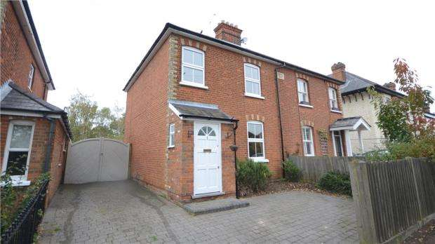 3 Bedrooms Semi Detached House for sale in Albany Cottages, Chavey Down Road, Winkfield Row