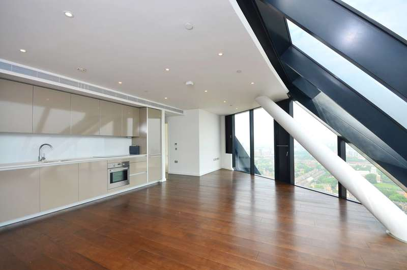 2 Bedrooms Penthouse Flat for sale in The Strata, Elephant and Castle, SE1