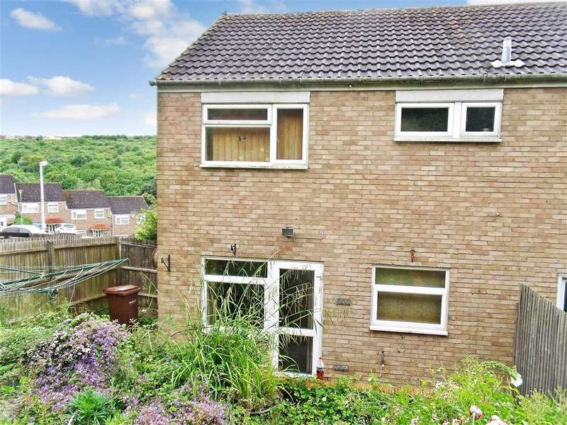 3 Bedrooms End Of Terrace House for sale in Sheridan Close, Walderslade, Chatham, Kent
