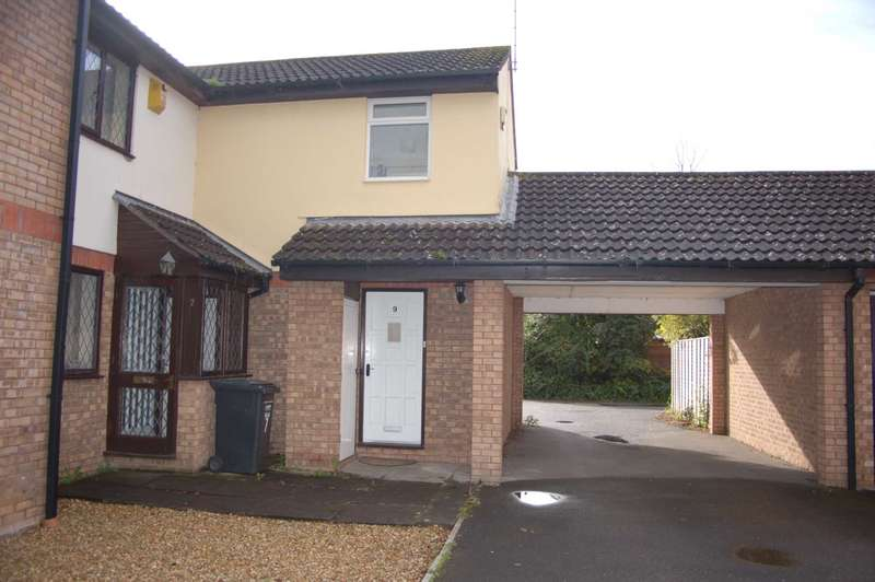 2 Bedrooms End Of Terrace House for sale in Amber Mead, Taunton