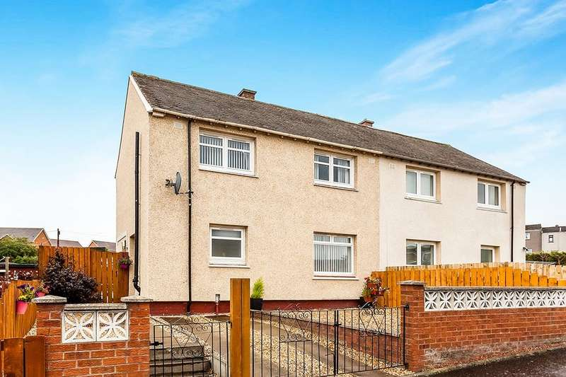 4 Bedrooms Semi Detached House for sale in Rowantree Road, Mayfield, Dalkeith, EH22