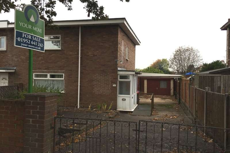 3 Bedrooms Semi Detached House for sale in Winifreds Drive, Donnington, Telford, TF2