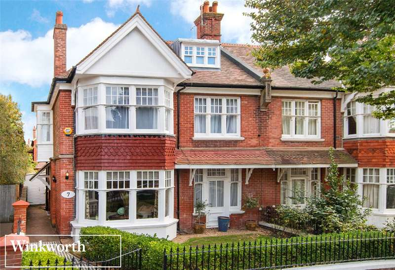 6 Bedrooms Semi Detached House for sale in Pembroke Avenue, Hove, East Sussex, BN3