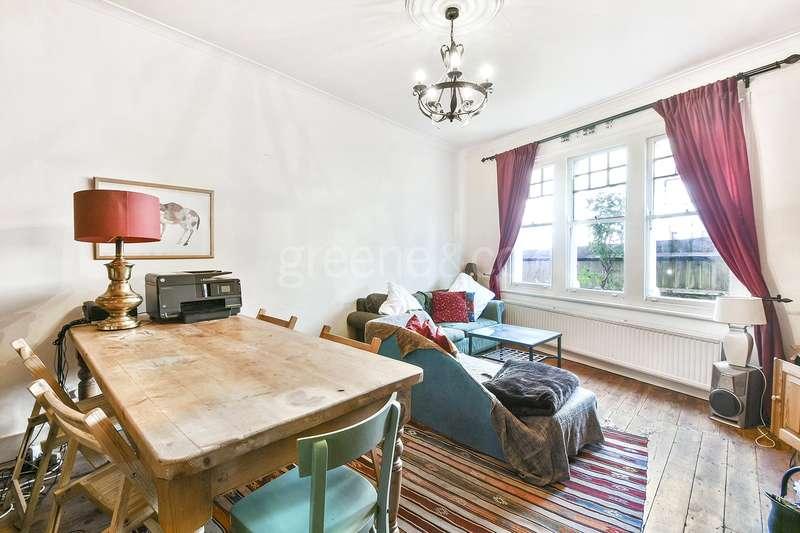 2 Bedrooms Flat for sale in Harvey Road, London, N8