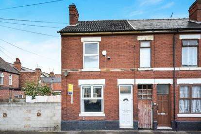 3 Bedrooms End Of Terrace House for sale in Almond Street, Derby, Derbyshire