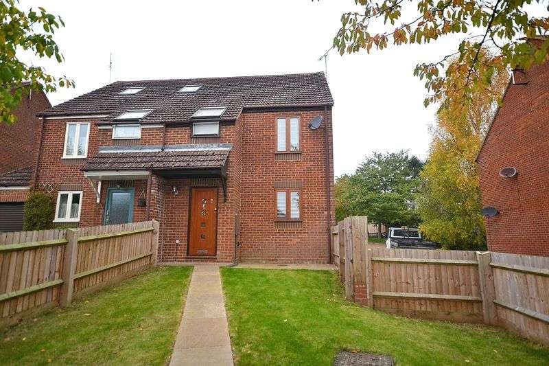 3 Bedrooms Semi Detached House for sale in Fenny Road, Stoke Hammond