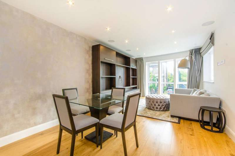 3 Bedrooms Flat for sale in Dalton Lodge, Queen's Park, NW6