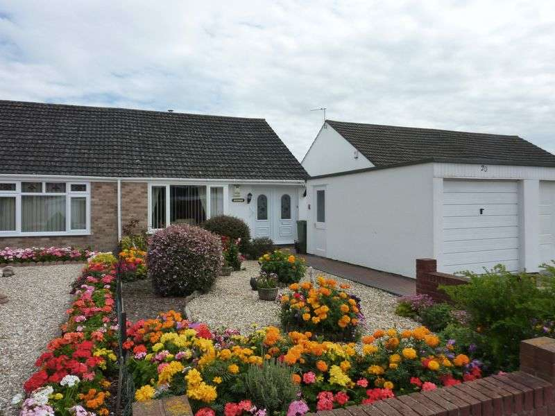 2 Bedrooms Semi Detached Bungalow for sale in Almond Tree Close, Bridgwater