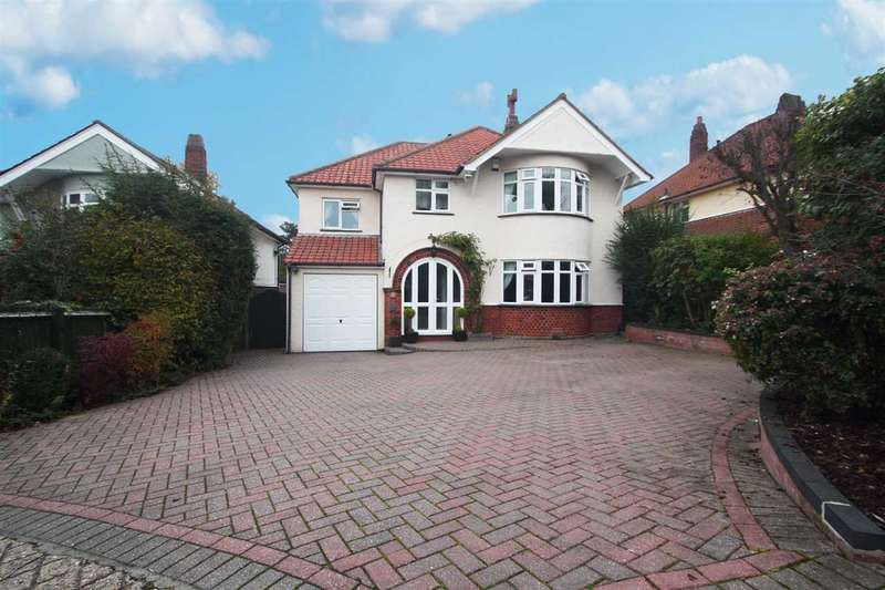 4 Bedrooms Detached House for sale in Cheltenham Avenue, Ipswich