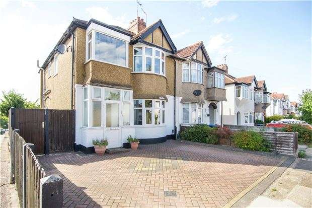 4 Bedrooms Semi Detached House for sale in Townsend Lane, KINGSBURY, NW9 7JG