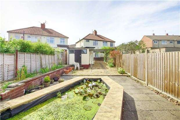 3 Bedrooms Semi Detached House for sale in Salisbury Road, Downend, BRISTOL, BS16 5RG