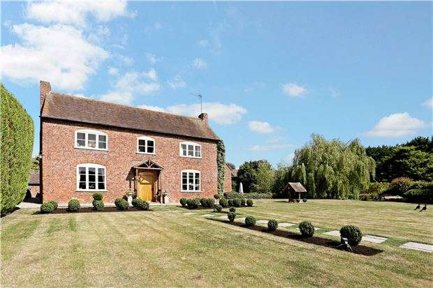 5 Bedrooms Detached House for sale in Kinsham, Gloucestershire, GL20 8HT