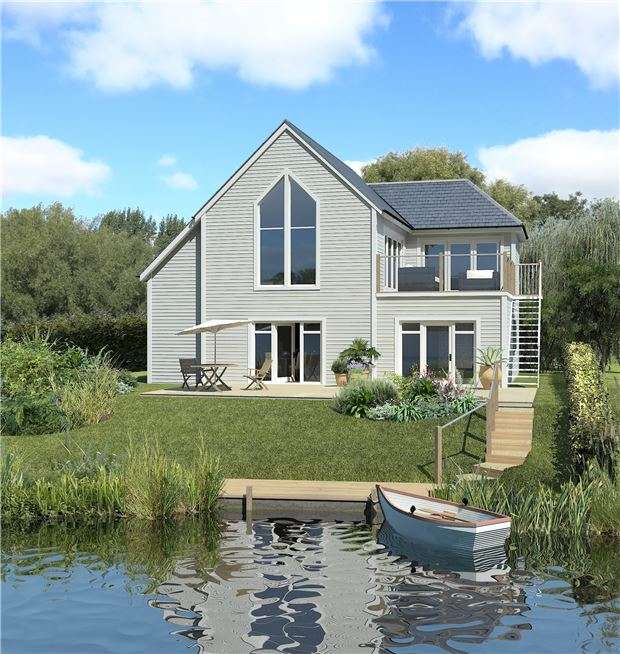 3 Bedrooms Detached House for sale in The Deck House - Plot 40, The Watermark, South Cerney, CIRENCESTER, Gloucestershire, GL7 5LW