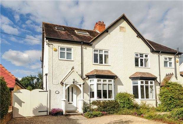 4 Bedrooms Semi Detached House for sale in Station Road, Woodmancote, CHELTENHAM, Gloucestershire, GL52 9HN