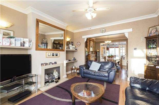 4 Bedrooms Semi Detached House for sale in Wandle Road, MORDEN, Surrey, SM4 6AE