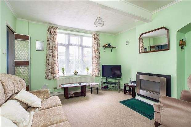 2 Bedrooms End Of Terrace House for sale in Missenden Gardens, MORDEN, Surrey, SM4 6HW