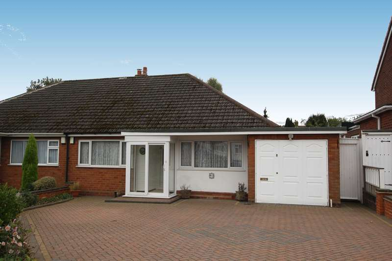 2 Bedrooms Semi Detached Bungalow for sale in Stirling Road, Sutton Coldfield, B73 6PH