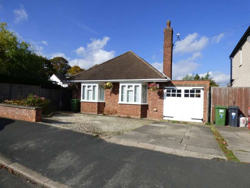2 Bedrooms Detached Bungalow for sale in Kinross Road, Leamington Spa