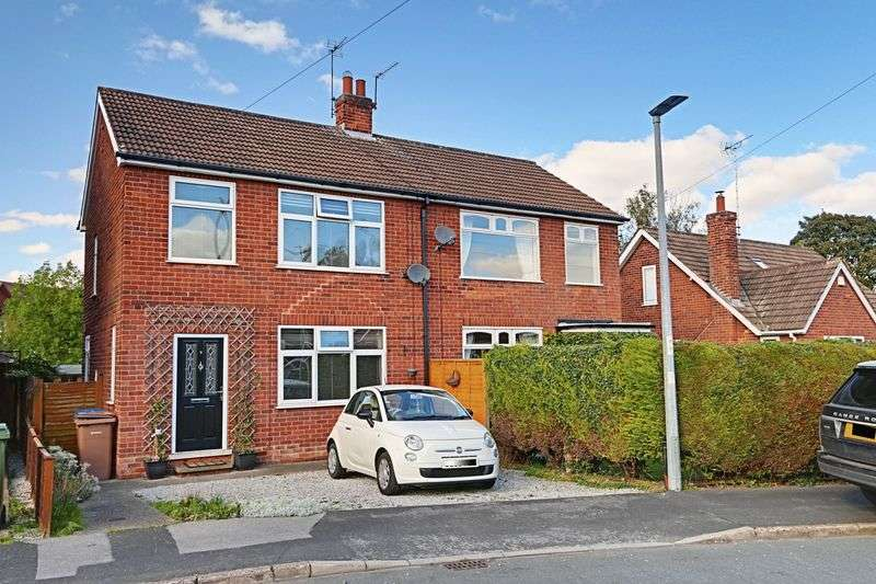2 Bedrooms Semi Detached House for sale in Kirby Drive, Cottingham