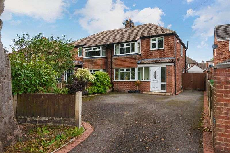 3 Bedrooms Semi Detached House for sale in Rushgreen Road, Lymm