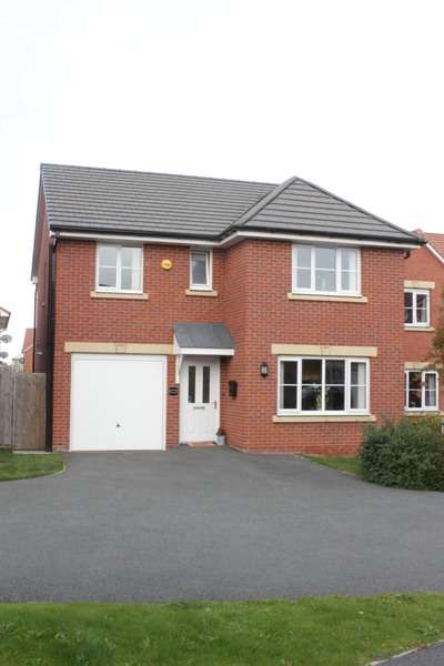 4 Bedrooms Detached House for sale in Boreay close, Middlewich, Cheshire, CW10
