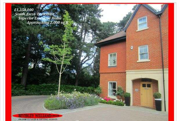 4 Bedrooms Semi Detached House for sale in South Ascot - 4 Bedroom, 3.5 Bath Executive Family home Approaching 2,000 sq.ft.