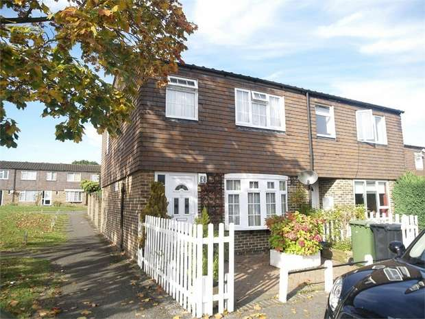 3 Bedrooms End Of Terrace House for sale in Somerset Close, Epsom