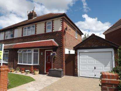 3 Bedrooms Semi Detached House for sale in Brook Drive, Great Sankey, Warrington, Cheshire, WA5
