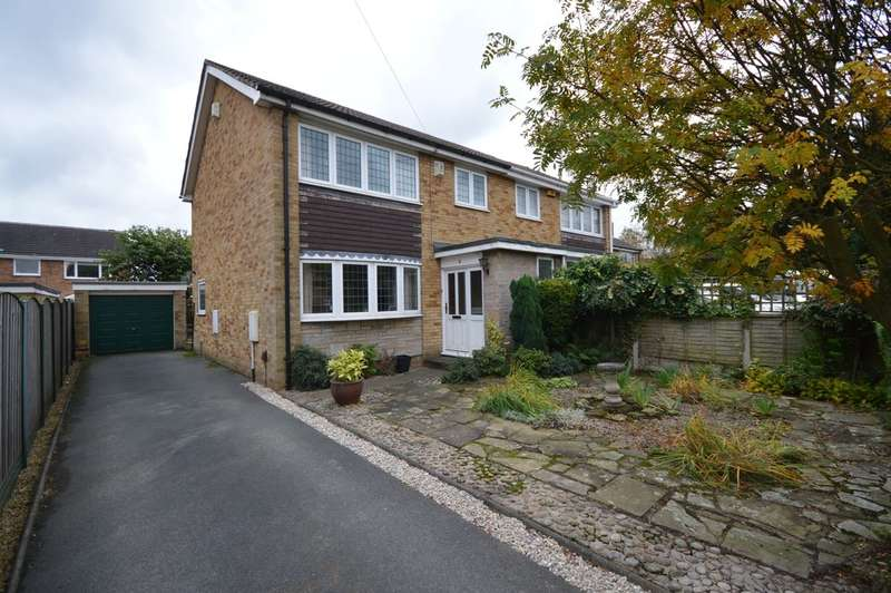 3 Bedrooms Semi Detached House for sale in Kings Paddock, Ossett