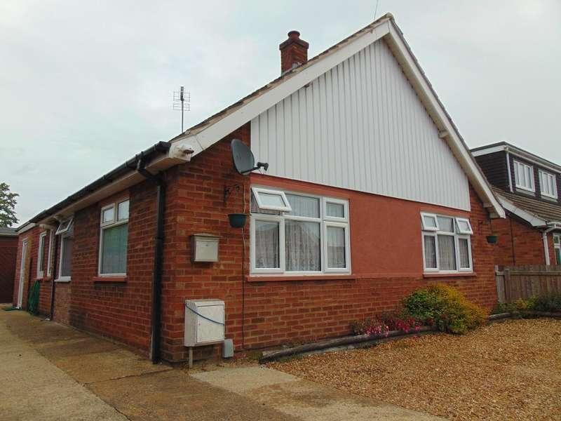 2 Bedrooms Detached Bungalow for sale in Chapnall Road, Walsoken, Wisbech, Cambridgeshire, PE13 3UE