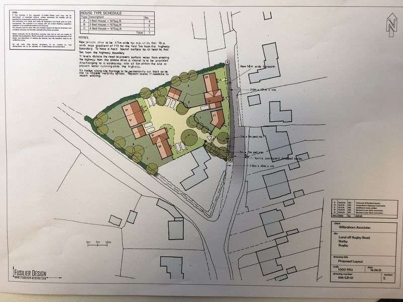 Land Commercial for sale in Land, Rugby Road, Barby, CV23 8UB