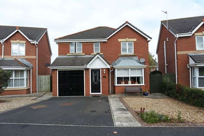 4 Bedrooms Detached House for sale in Dalesman Drive, Carlisle