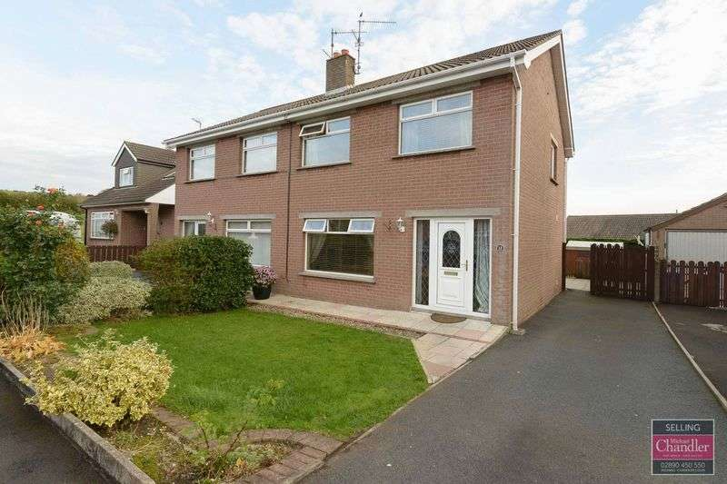3 Bedrooms Semi Detached House for sale in 13 Tobarmore Park, Crossgar, BT30 9HE