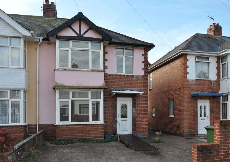 3 Bedrooms House for sale in Woodville Road, Exeter