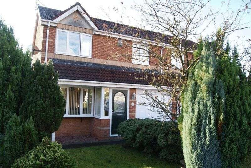 3 Bedrooms Semi Detached House for sale in Primrose Close, Cramlington