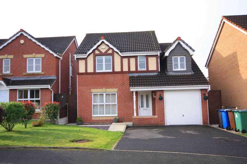 4 Bedrooms Detached House for sale in Glenwood Close, Radcliffe