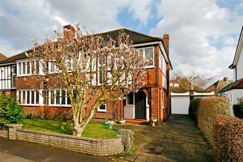4 Bedrooms Semi Detached House for sale in Copse Hill, London, SW20