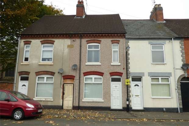 3 Bedrooms Terraced House for sale in Bottrill Street, Abbey Green, Nuneaton, Warwickshire