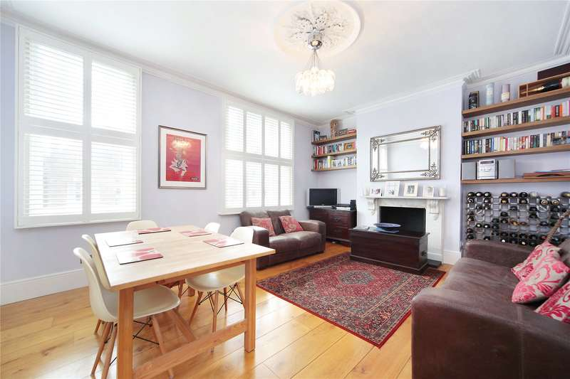 3 Bedrooms Flat for sale in Endlesham Road, Nightingale Triangle, London, SW12