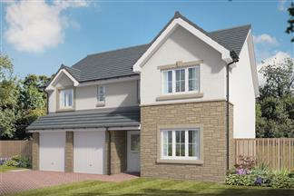 4 Bedrooms Detached House for sale in Queens Drive, Carrickstone, Cumbernauld, Glasgow, G68