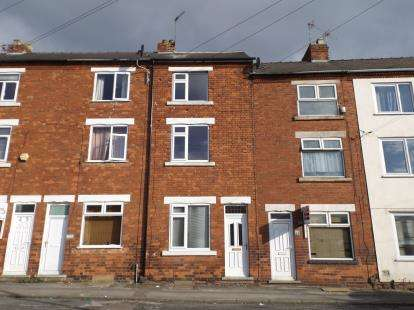3 Bedrooms Terraced House for sale in Silk Street, Sutton In Ashfield, Nottingham, Nottinghamshire