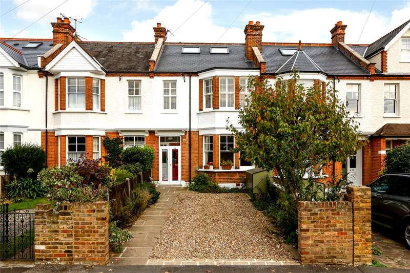 4 Bedrooms Terraced House for sale in Lambton Road, London, SW20